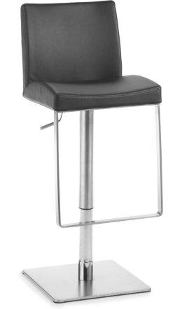 hochwertiger barhocker mit bequemen polstersitz. Black Bedroom Furniture Sets. Home Design Ideas