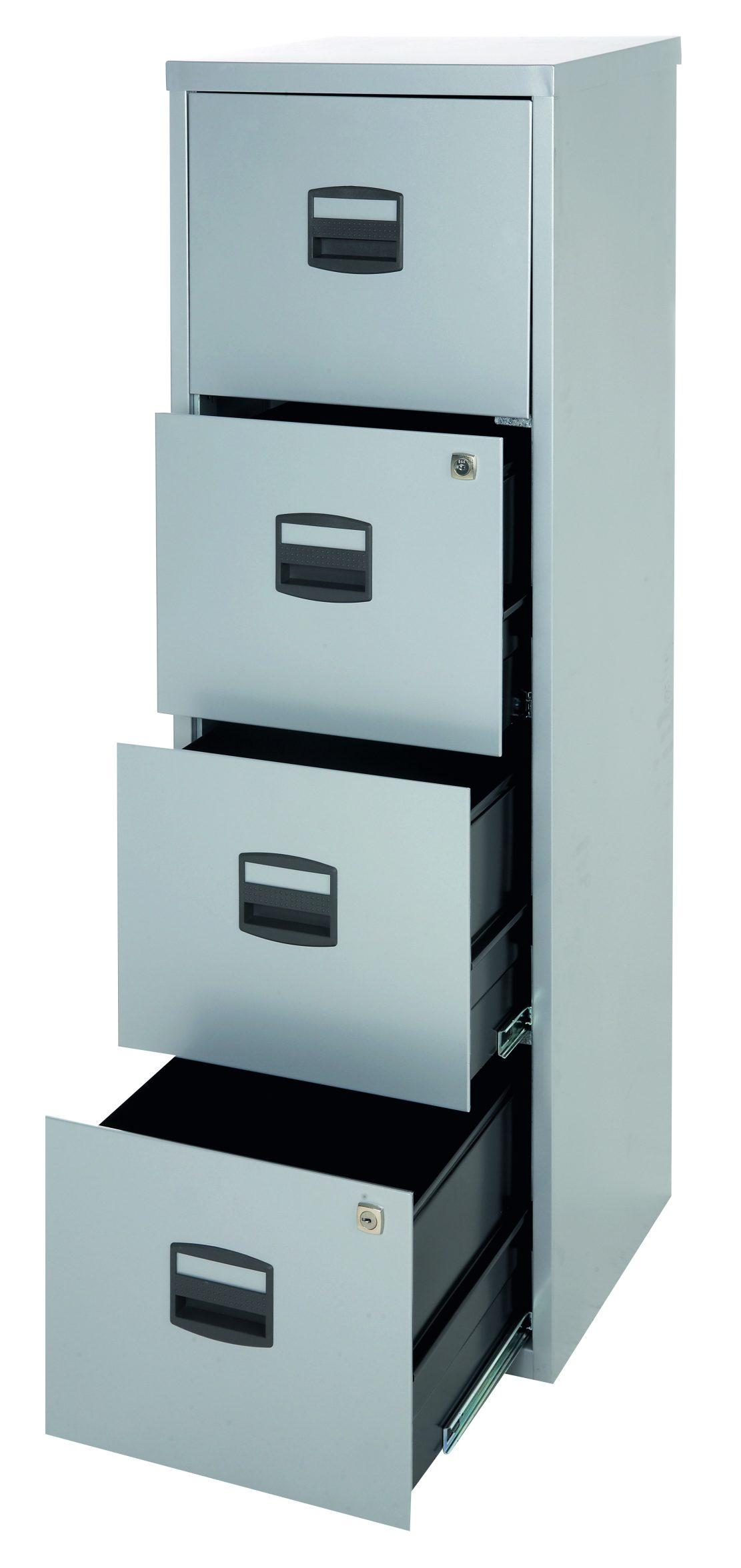 preiswerter und sehr stabiler Büro-Stahlschrank \