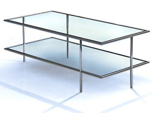 pin couchtisch glas edelstahl modernes design kassel on. Black Bedroom Furniture Sets. Home Design Ideas