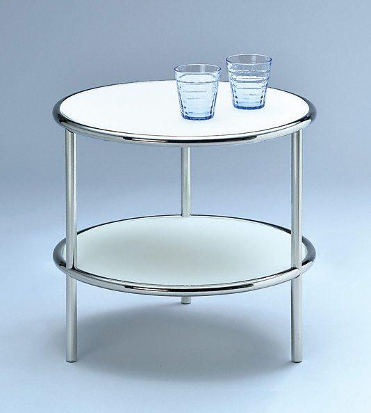 runder beistelltisch tischh he 45 cm durchmesser 50. Black Bedroom Furniture Sets. Home Design Ideas
