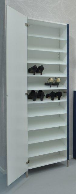eleganter schuh und garderobenschrank stabile wandmontage. Black Bedroom Furniture Sets. Home Design Ideas