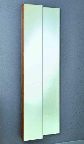 eleganter spiegelschrank 175 cm hoch zur wandmontage in. Black Bedroom Furniture Sets. Home Design Ideas