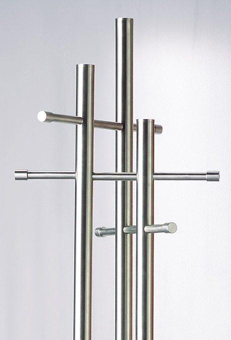 Kleiderständer Edelstahl Design moderne edelstahl standgarderobe stand 05 edekstahl aus sehr
