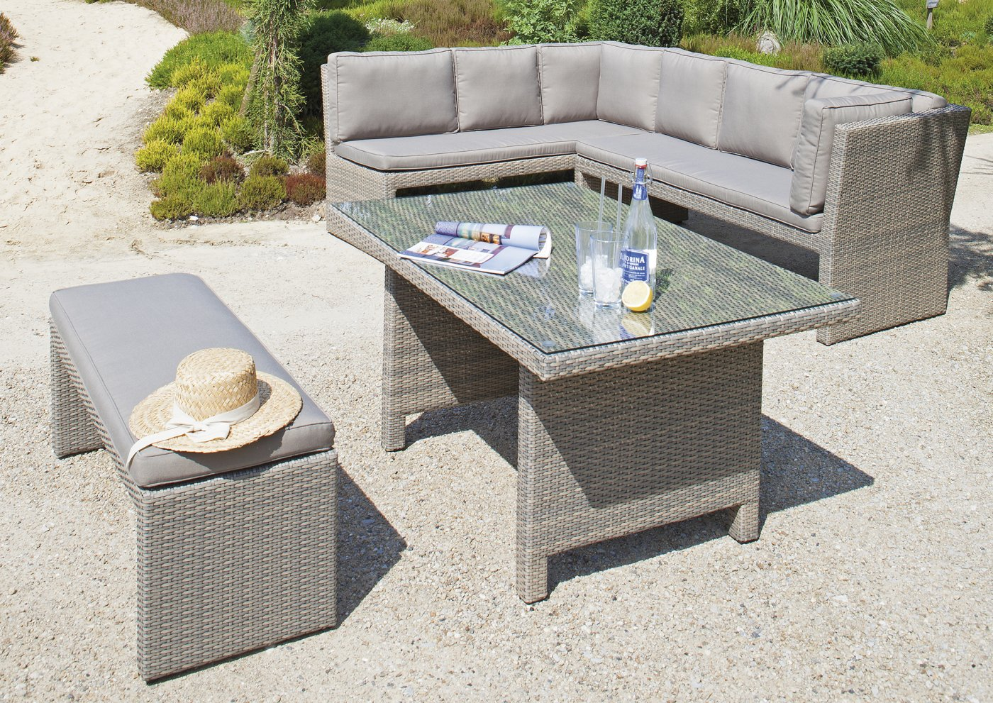 gartenmöbel set mit eckbank | ambiznes.com - Sitzgruppe Im Garten Gartenmobel Sets