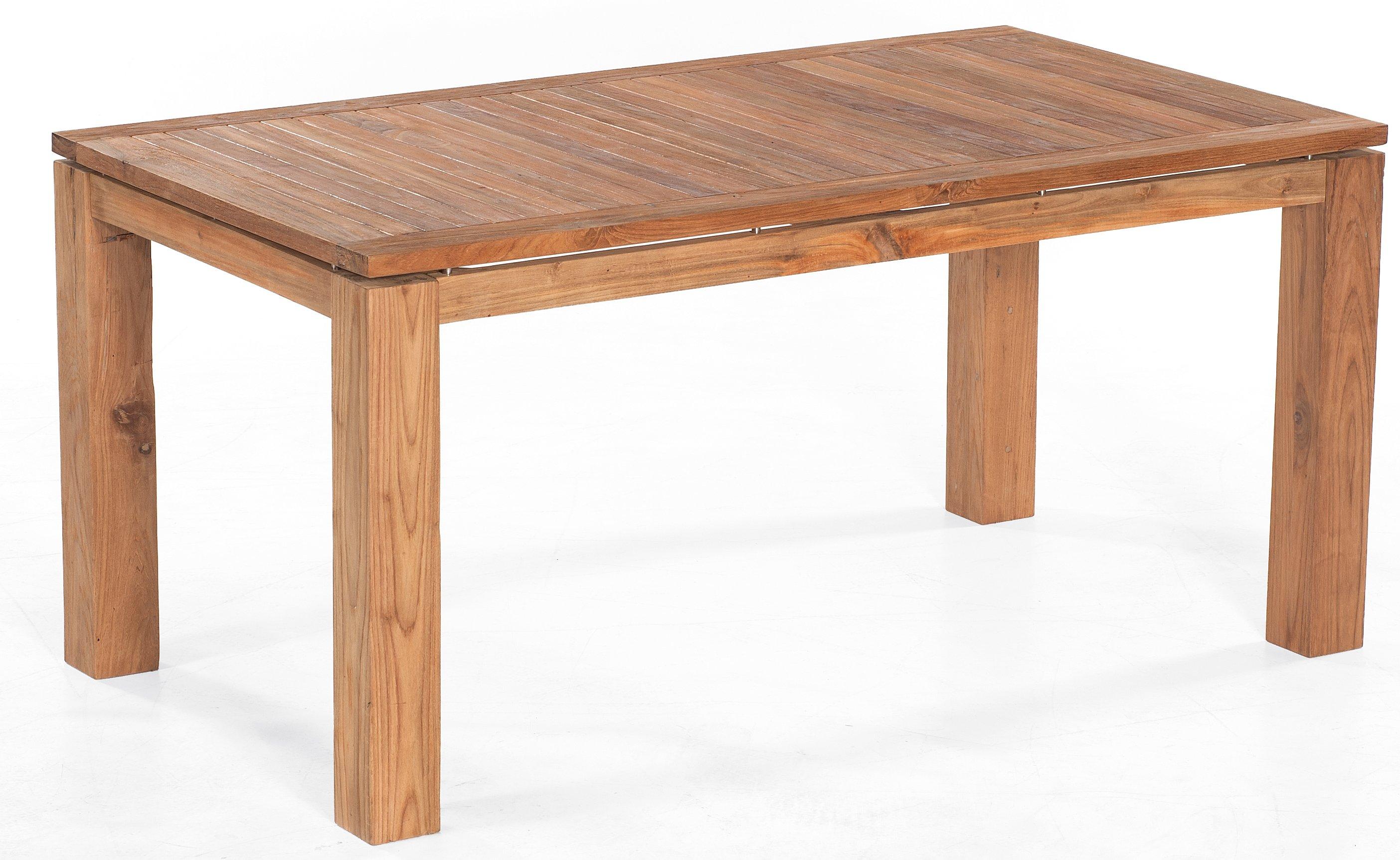 wetterfester massivholz gartentisch hochwertig old teak massive tischplatte. Black Bedroom Furniture Sets. Home Design Ideas