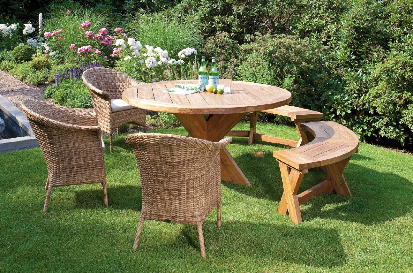Rattan Gartenmobel Tisch Und Stuhle : Lounge Möbel Garten Lounge möbel garten preisvergleich billiger