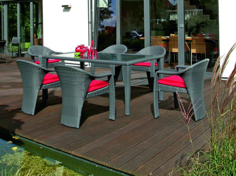Europaletten Gartenmobel Selber Bauen : Gartenmöbel Hochwertig  Abbildung hochwertig geflochtene