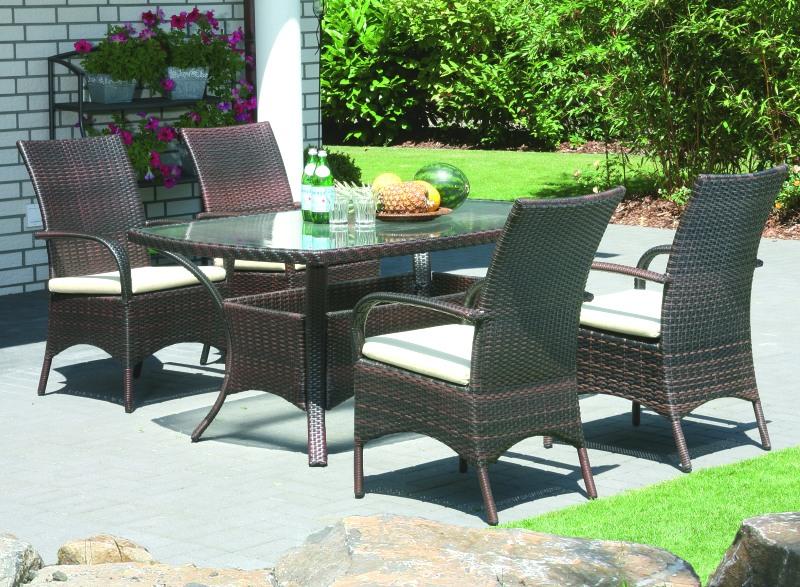 Teakholz Gartenmobel Sitzgruppe :   Gartenmobel kunststoffgeflecht Gartenmoebel polyrattan geflecht
