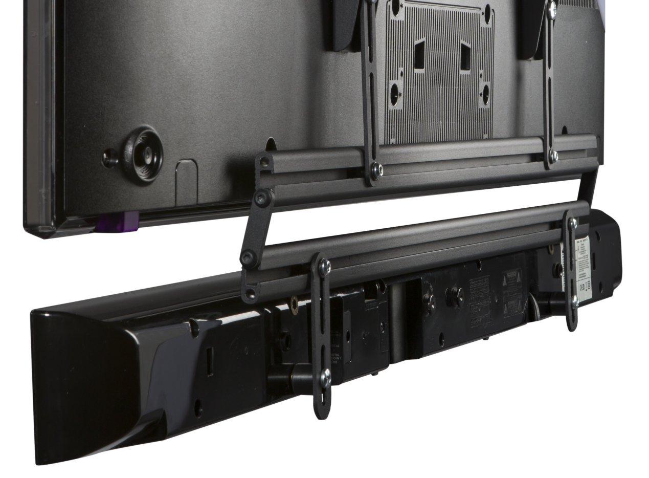 Sehr stabile wandhalterung f r soundbar und flachbildfernseher bis 70 zoll - Wandhalterung tv und receiver ...