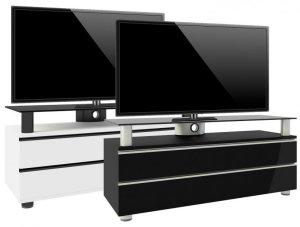 LED Fernseher Sideboard Wahlweise Schwarz Oder Weiß