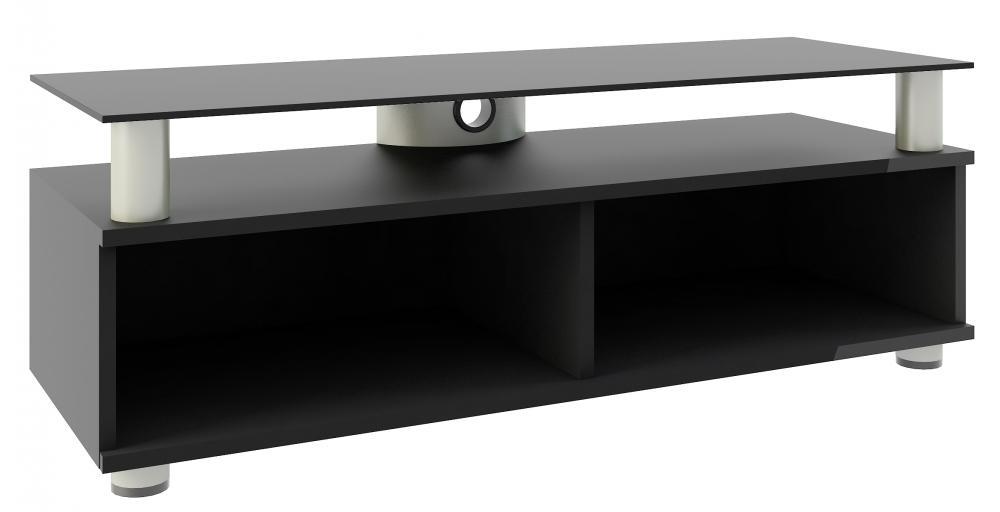 Rattan Gartenmobel Outlet Schweiz : TVLowboard Clunis Weißlack modernes und preiswertes TVLowboard
