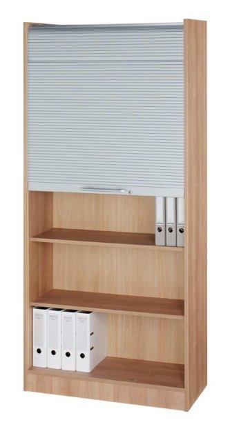Aktenschrank abschließbar hoch  Büroschrank mit abschließbarem Rollladen