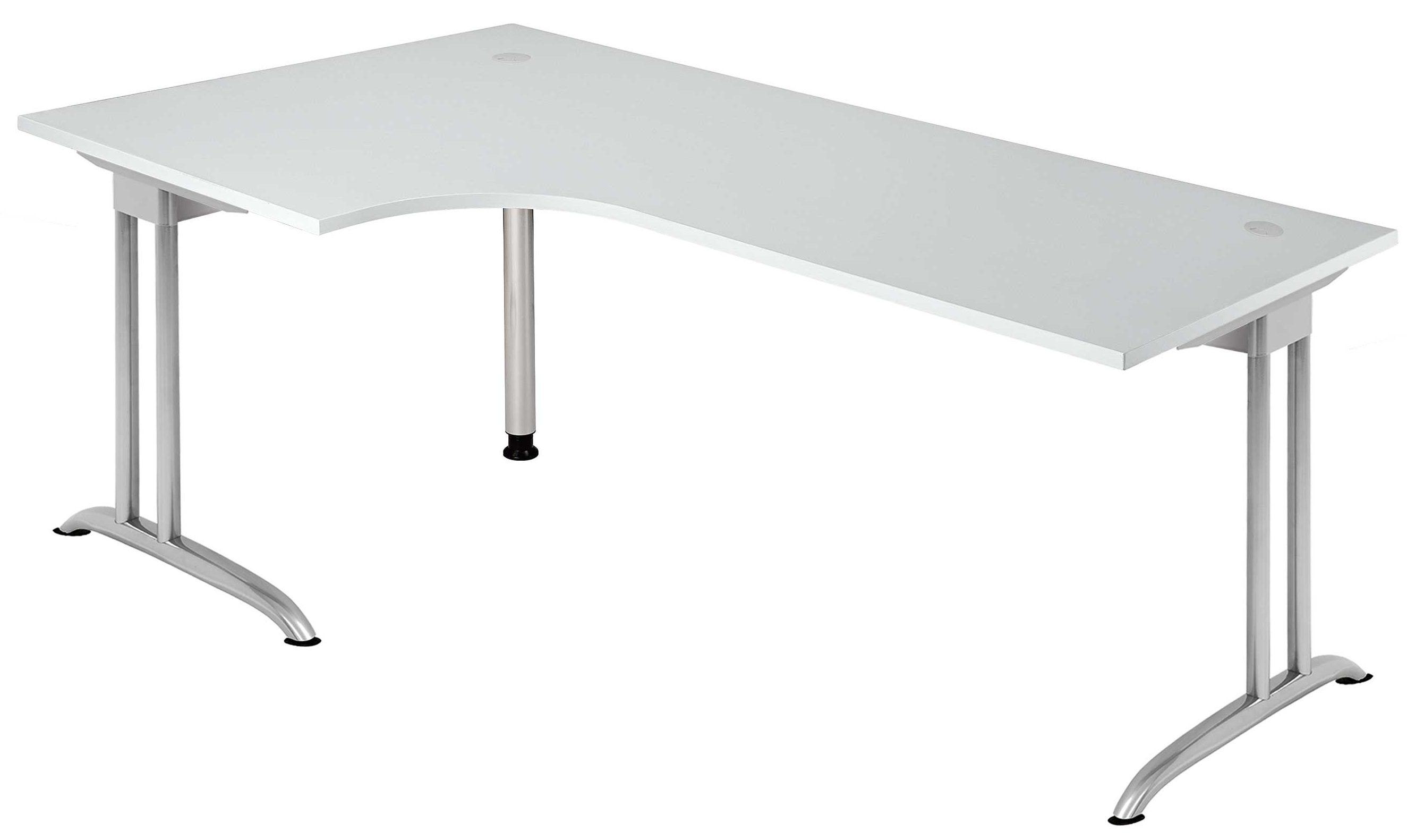 moderner und robuster b roschreibtisch easy work ew 82 mit grauer kratzunempfindlicher. Black Bedroom Furniture Sets. Home Design Ideas