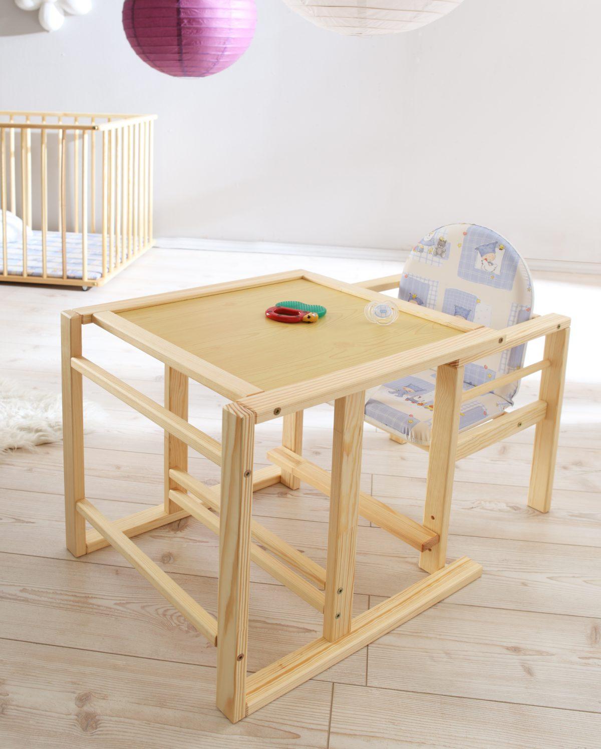 babystuhl mit tisch