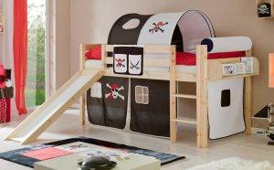 sehr sch nes und sicheres kinderhochbett etagenbett aus. Black Bedroom Furniture Sets. Home Design Ideas