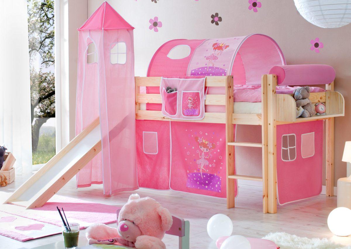 stilvolle kinderhochbett mit rutsche bilder erindzain. Black Bedroom Furniture Sets. Home Design Ideas