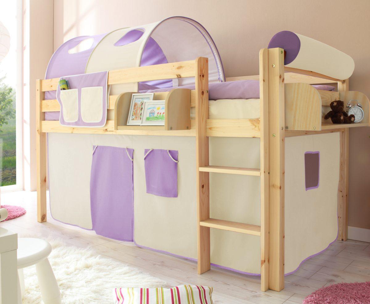 hochbett fuer kinder jugendliche mimondo. Black Bedroom Furniture Sets. Home Design Ideas