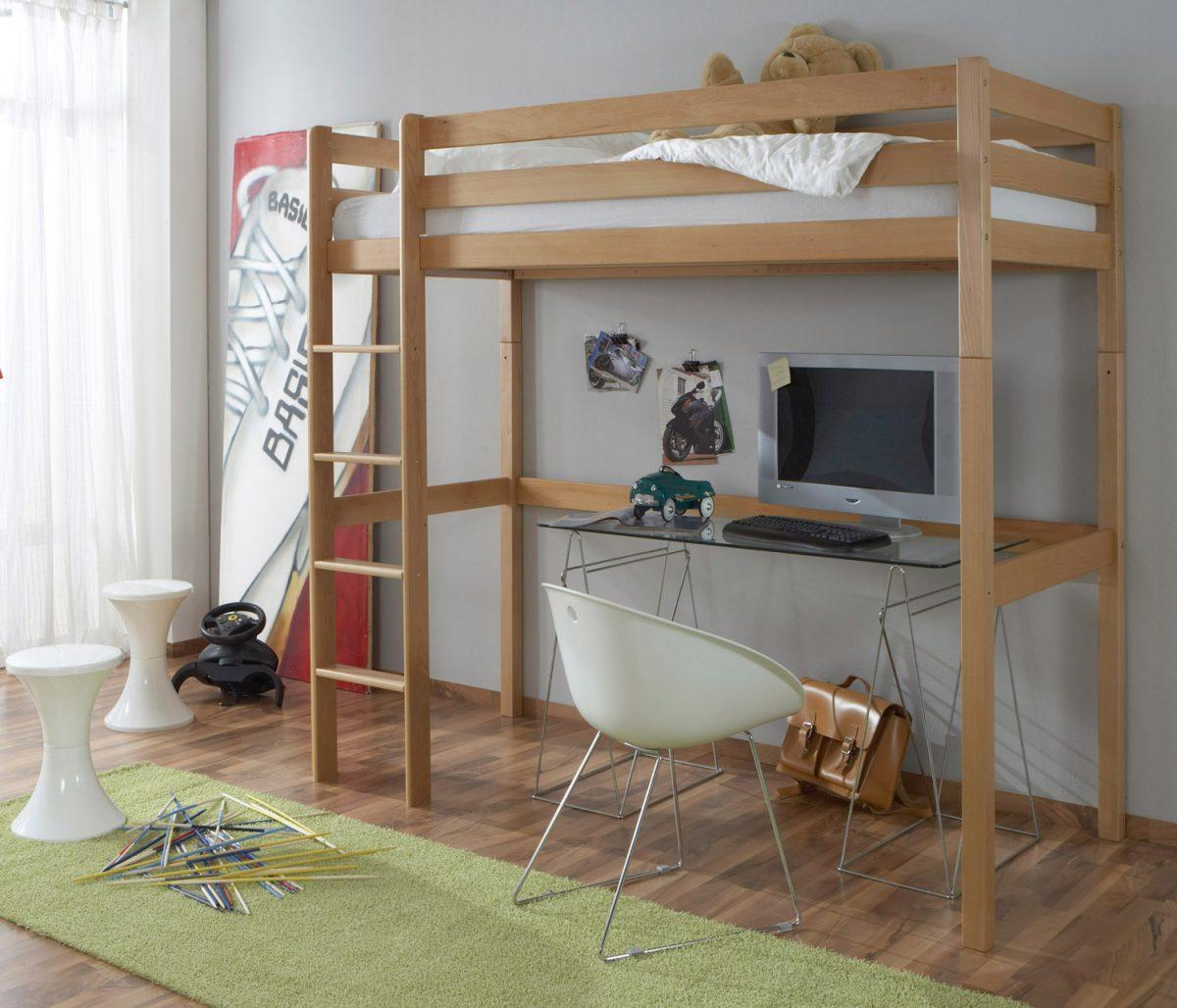 Hochbett kinder design  Kinder- / Jugend-Hochbett