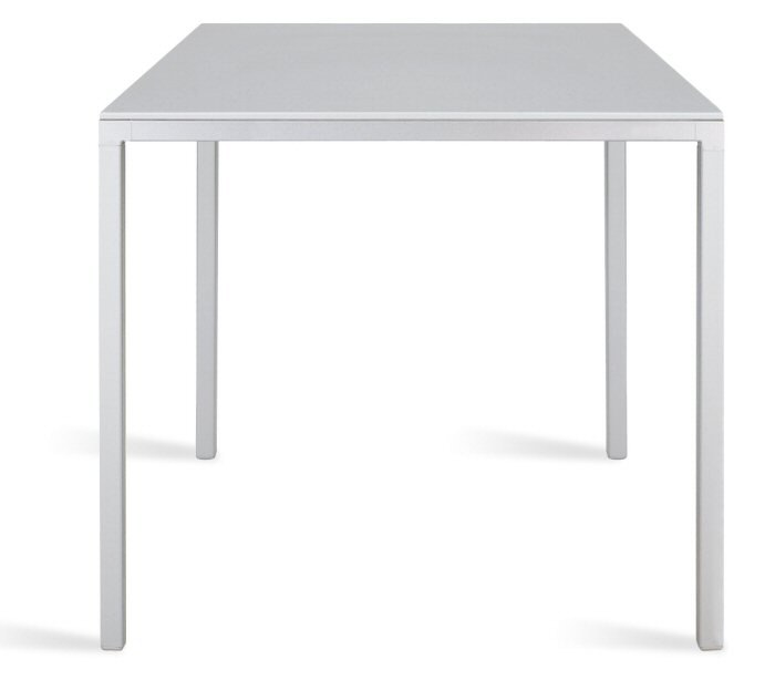 Abbildung tisch ts 80 quadratische tischplatte 80 x for Design tisch quadratisch