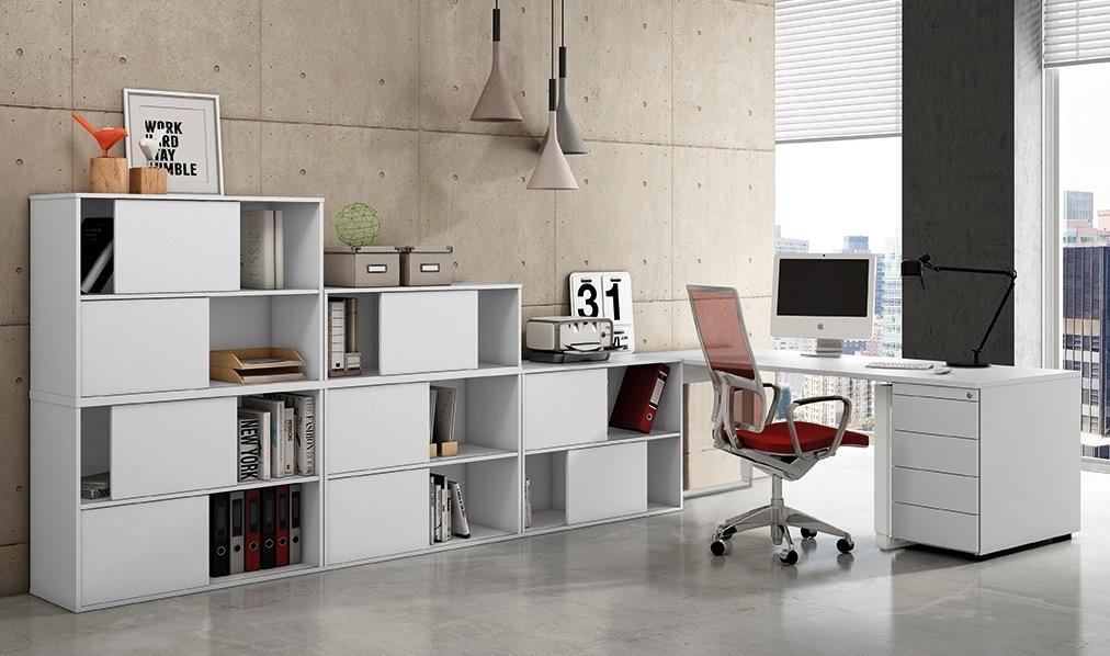 Büroschrank design  selbst gestaltbare Büroeinrichtung stapelbare Schiebetüren ...