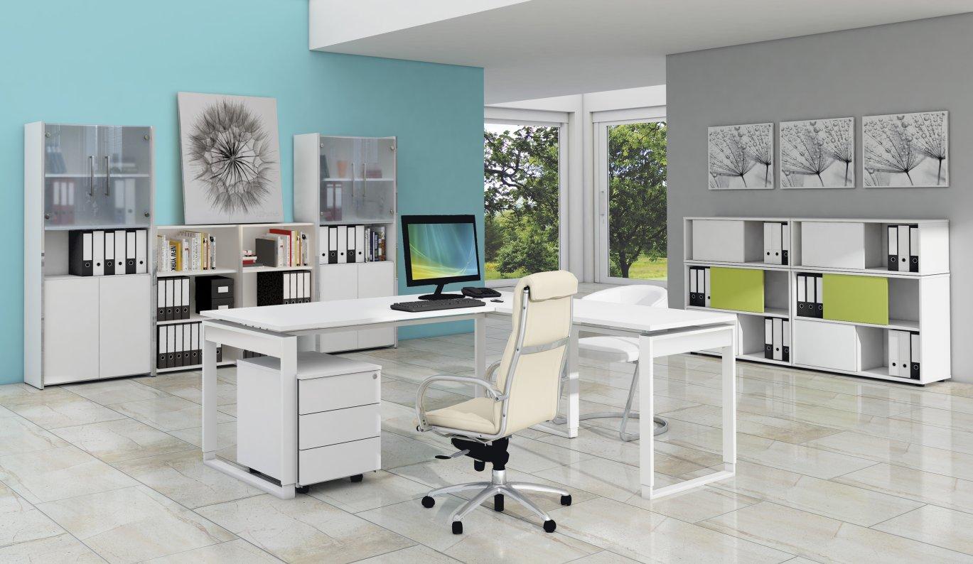 moderne Bürozimmer-Vollausstattung mit robusten und preiswerten ...