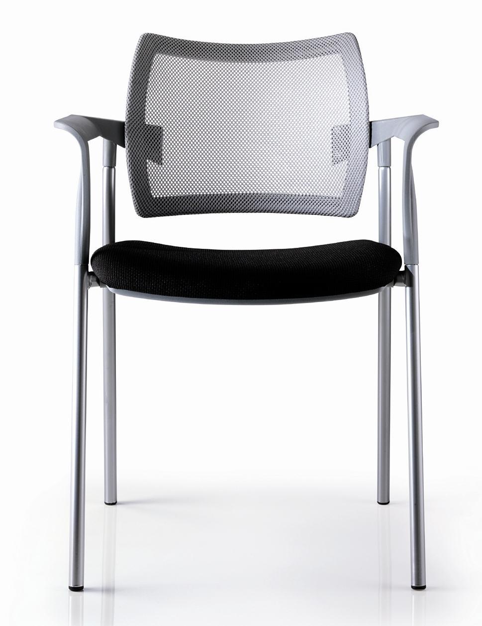 Konferenzstuhl stapelbar  sehr hochwertiger und preiswerter Besucherstuhl(stapelbar) mit ...