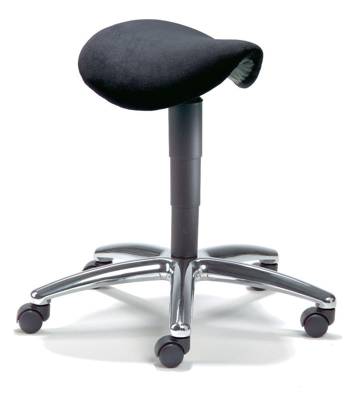 Drehhocker ergonomisch  höhenverstellbarer Drehhocker / Arbeitshocker mit einem ...