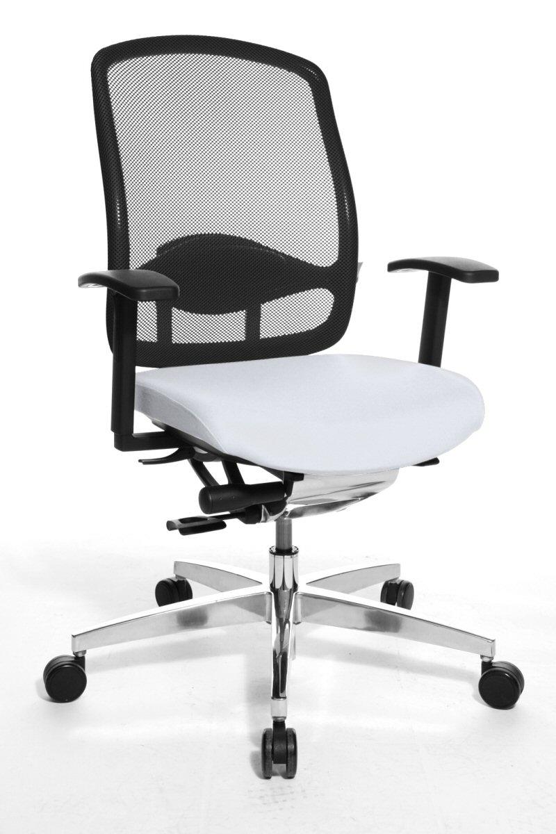 Design schreibtischstuhl weiß  Bildvergrößerung weisser Schreibtischstuhl von Wagner mit bequeme ...