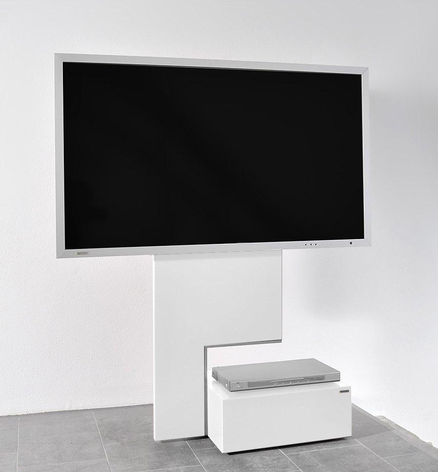 abbildung tv standfu mit verdeckten laufrollen move. Black Bedroom Furniture Sets. Home Design Ideas