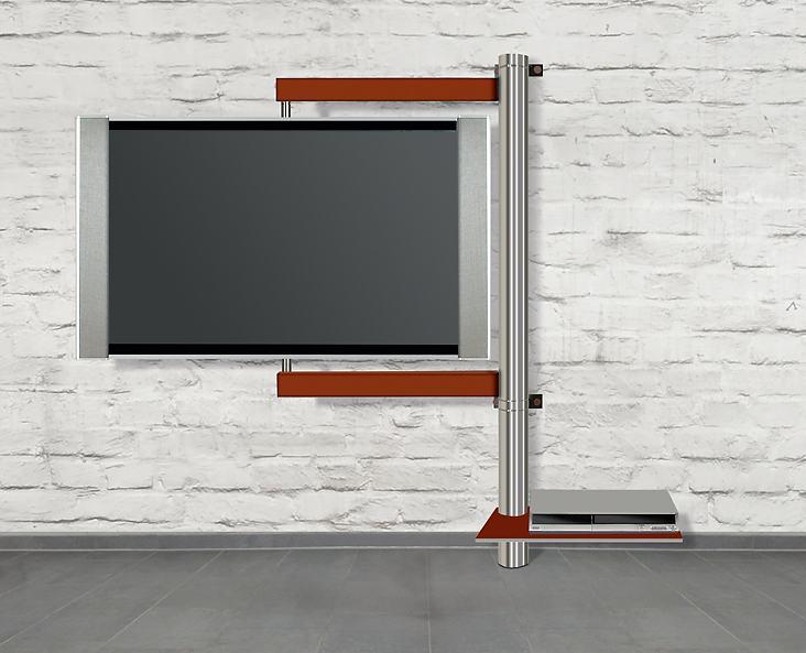 Nach allen richtungen frei drehbare flatscreen wandhalterung solution art112 wand querstreben - Fernseh wandhalterung schwenkbar ...