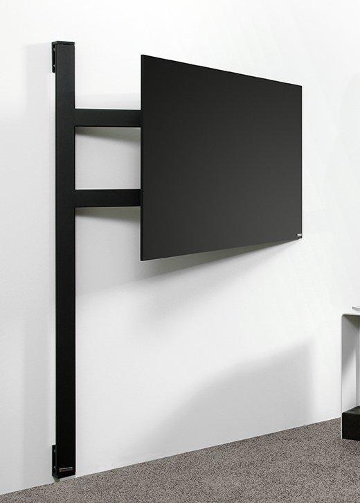 hochwertige fernseher wandhalterung mit einem sehr stabilen schwenkarm f r flachbildfernseher. Black Bedroom Furniture Sets. Home Design Ideas