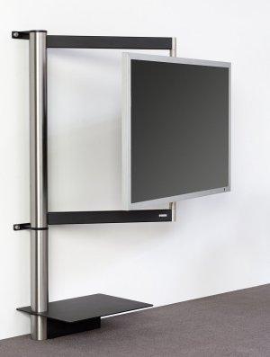 flatscreen wandhalterung frei drehbare und schwenkbare tv wandhalterung f r. Black Bedroom Furniture Sets. Home Design Ideas