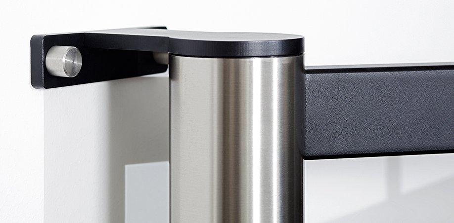 stabilen und frei schwenkbare fernseher wandhalterung f r. Black Bedroom Furniture Sets. Home Design Ideas