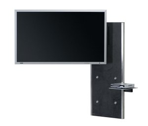 moderne und sehr hochwertige fernseher wandhalterung mit. Black Bedroom Furniture Sets. Home Design Ideas